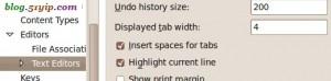 设置空格替换tab,方法一