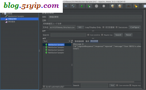 jmeter 调用 websocket api 返回结果