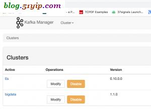 kafka web端管理工具