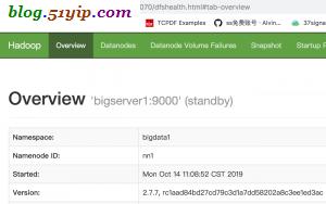 bigserver1 standby
